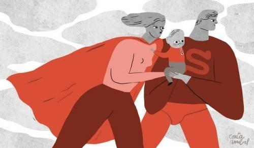 Pediatría en la era de las supermadres y los superpadres