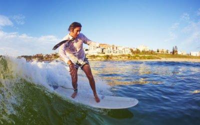 Los beneficios del surf para tu salud